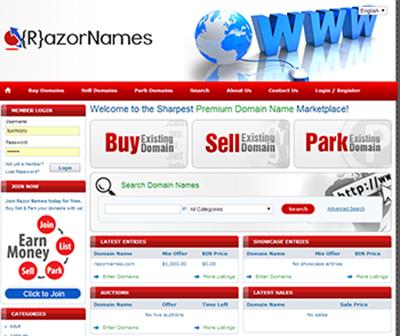 RazorNames Website